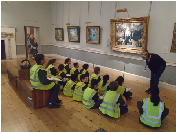 Year 6 Trip to Courtauld Art Gallery