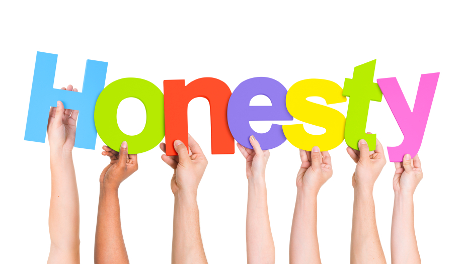 Value this month: Honesty