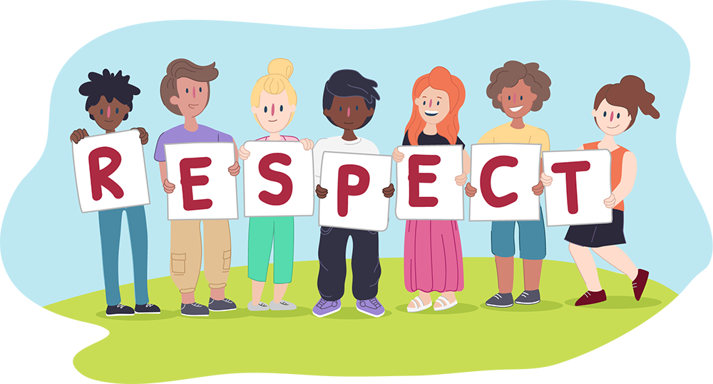 Value this month: Respect