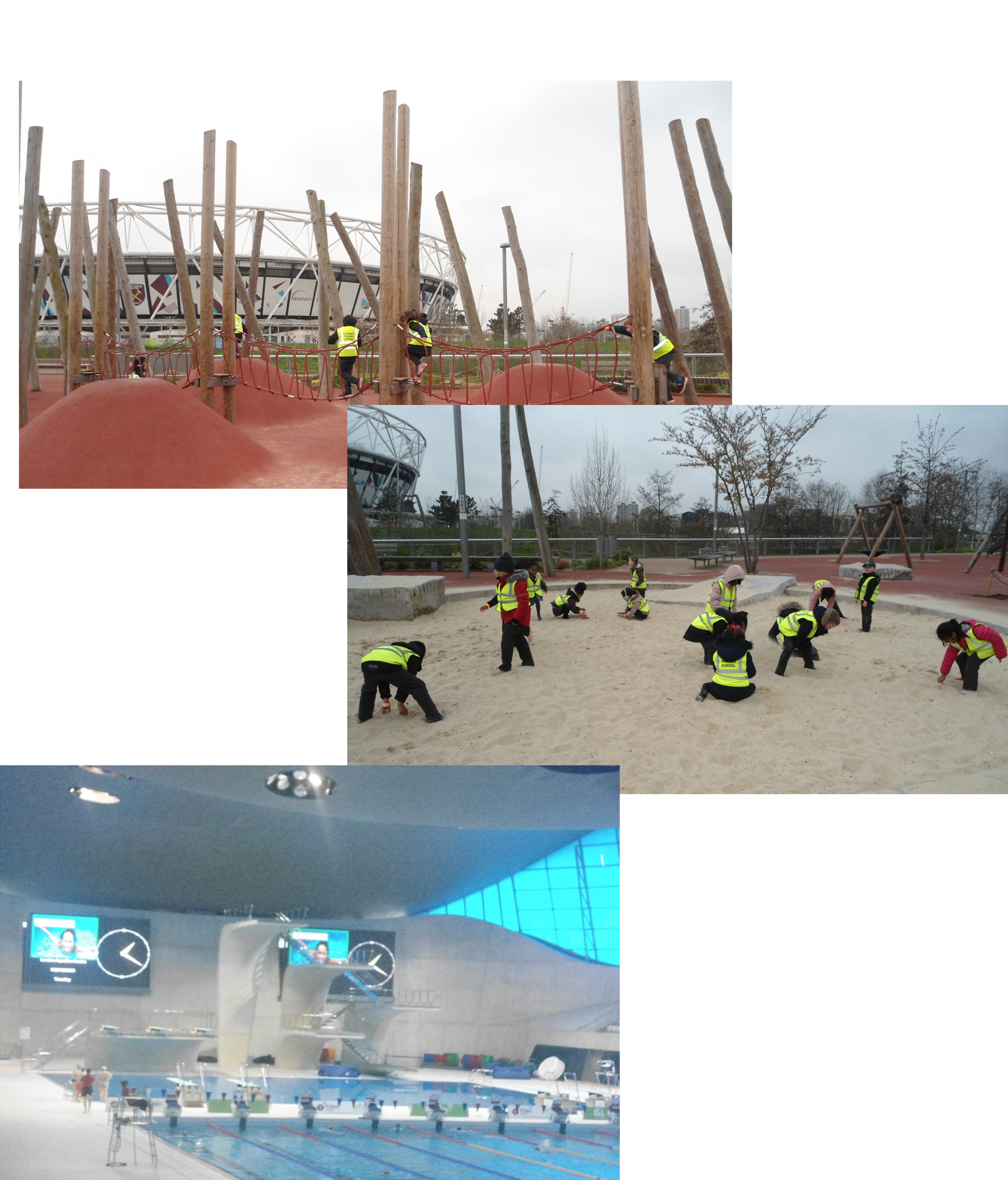 Year 1 visit to queen elizabeth olympic park leagrave - Queen elizabeth olympic park swimming pool ...